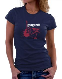 Grunge Rock - Feel The Music Women T-Shirt