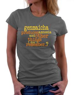 Genmaicha Produces Amnesia And Other Things I Don