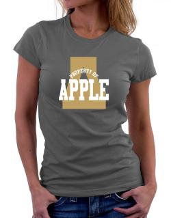 Property Of Apple Women T-Shirt