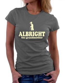Albright The Grandmother Women T-Shirt