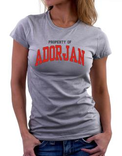 Property Of Adorjan Women T-Shirt