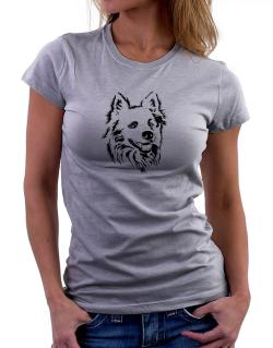 American Eskimo Dog Face Special Graphic Women T-Shirt