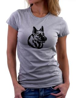 """ Belgian Malinois FACE SPECIAL GRAPHIC "" Women T-Shirt"
