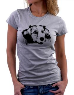 """ Kooikerhondje FACE SPECIAL GRAPHIC "" Women T-Shirt"