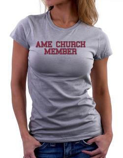 Ame Church Member - Simple Athletic Women T-Shirt