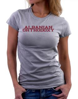 Albanian Orthodoxy - Simple Athletic Women T-Shirt