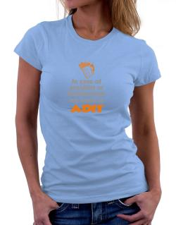 In Case Of Accident Or Drunkenness, My Name Is Adit Women T-Shirt