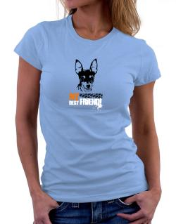 """ Fox Terrier MY BEST FRIEND - URBAN STYLE "" Women T-Shirt"