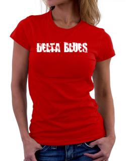 Delta Blues - Simple Women T-Shirt