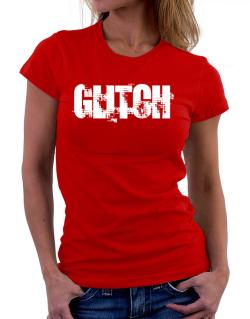 Glitch - Simple Women T-Shirt
