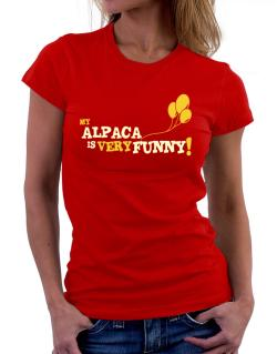 My Alpaca Is Very Funny Women T-Shirt