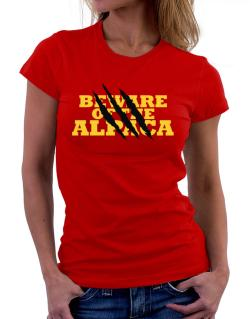 Beware Of The Alpaca Women T-Shirt