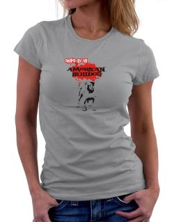 Owned By An American Bulldog Women T-Shirt