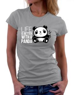 Polo de Dama de Life is better with a panda