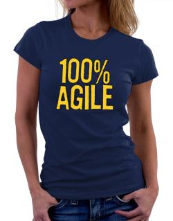 100% Agile Women T-Shirt