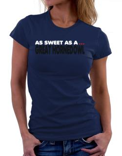 As Sweet As A Great Horned Owl Women T-Shirt