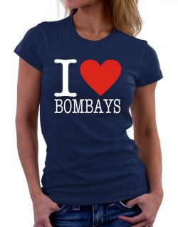 I Love Bombays Women T-Shirt