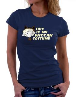 This Is My Wiccan Costume Women T-Shirt