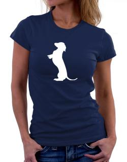Begging Dachshund Women T-Shirt