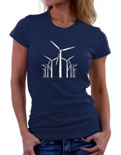 Wind Energy Women T-Shirt