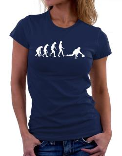 Curling Evolution Women T-Shirt