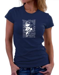 Beethoven symphony Women T-Shirt