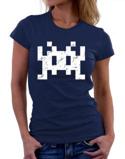 Polo de Dama de Space invaders retro
