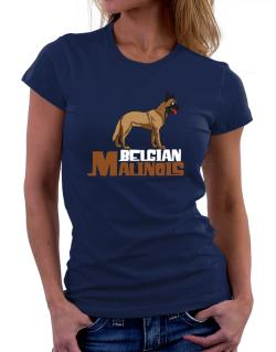 Belgian malinois cute dog Women T-Shirt