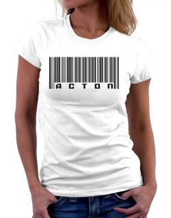 Bar Code Acton Women T-Shirt