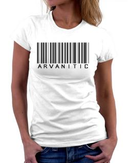 Arvanitic Barcode Women T-Shirt