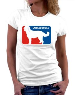 Labradoodle Sports Logo Women T-Shirt