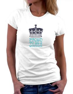 Proud To Be A Wiccan Women T-Shirt