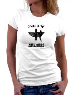 Krav Maga Hebrew Women T-Shirt