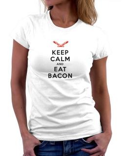 Keep calm and eat Women T-Shirt