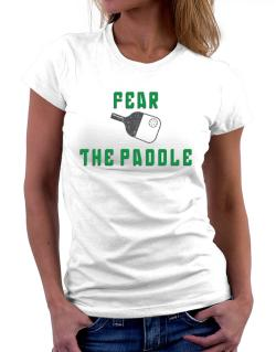 Polo de Dama de Fear the Paddle Pickleball