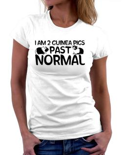 I am two guinea pigs past normal Women T-Shirt
