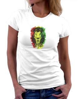 Lion rasta hair Women T-Shirt