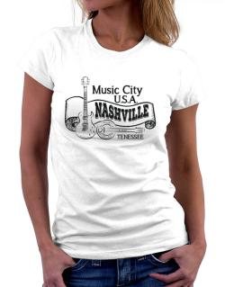 Music city Usa Nashville Tennessee Women T-Shirt