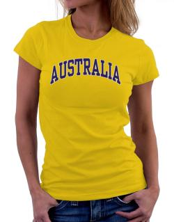 Australia - Simple Women T-Shirt