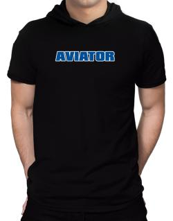Aviator Hooded T-Shirt - Mens