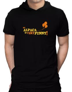 My Alpaca Is Very Funny Hooded T-Shirt - Mens