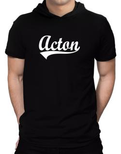 Acton Hooded T-Shirt - Mens
