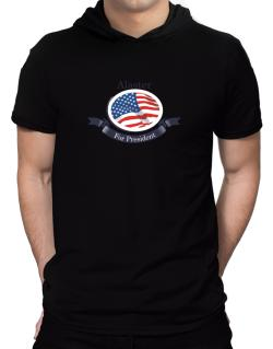Alaster For President Hooded T-Shirt - Mens