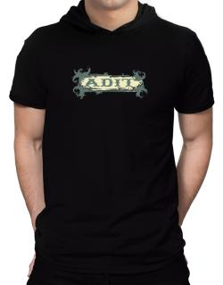 Adit Hooded T-Shirt - Mens