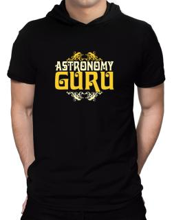 Astronomy Guru Hooded T-Shirt - Mens
