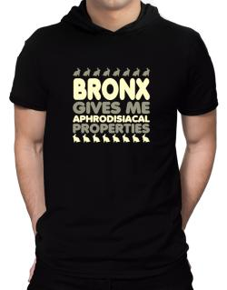 Bronx Gives Me Aphrodisiacal Properties Hooded T-Shirt - Mens