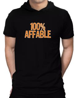 100% Affable Hooded T-Shirt - Mens