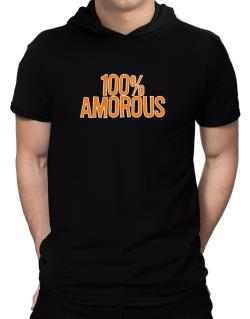 100% Amorous Hooded T-Shirt - Mens