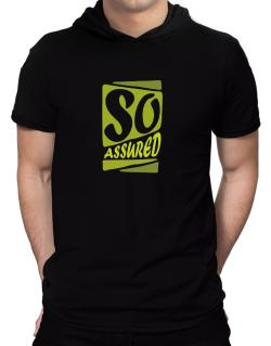 So Assured Hooded T-Shirt - Mens
