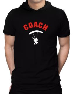 Skydiving Coach Hooded T-Shirt - Mens